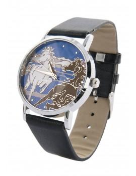 Reloj con caballos en Libertad