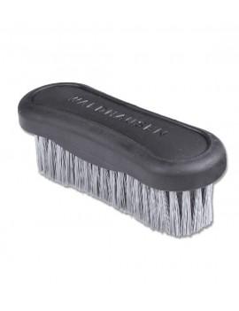Cepillo para la cara de cuero sintetico