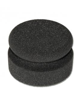 Esponja negra con forma de...
