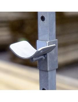 Soporte Barra Reparo Doble metálico