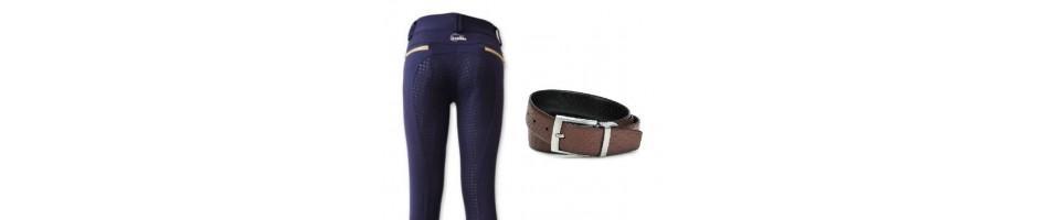 Pantalones y cinturones